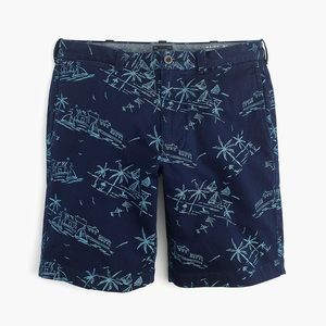 "J.Crew Men's 9"" Shorts in Tropical Print Size 31"